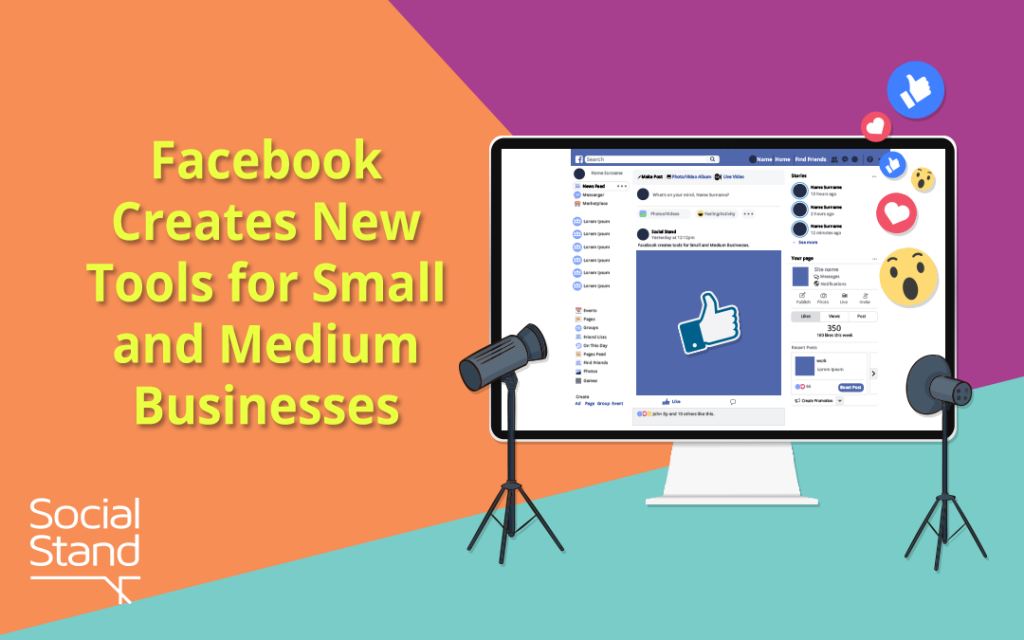 , Facebook Creates New Tools for Small and Medium Businesses