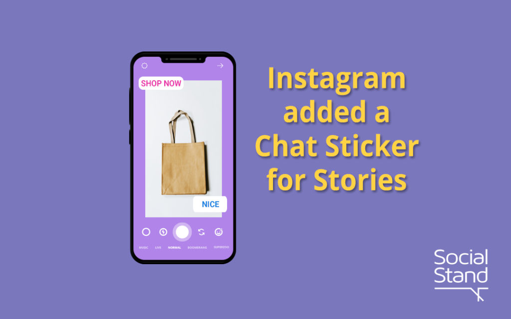 , Instagram Rolls Out New Chat Sticker on Instagram Stories