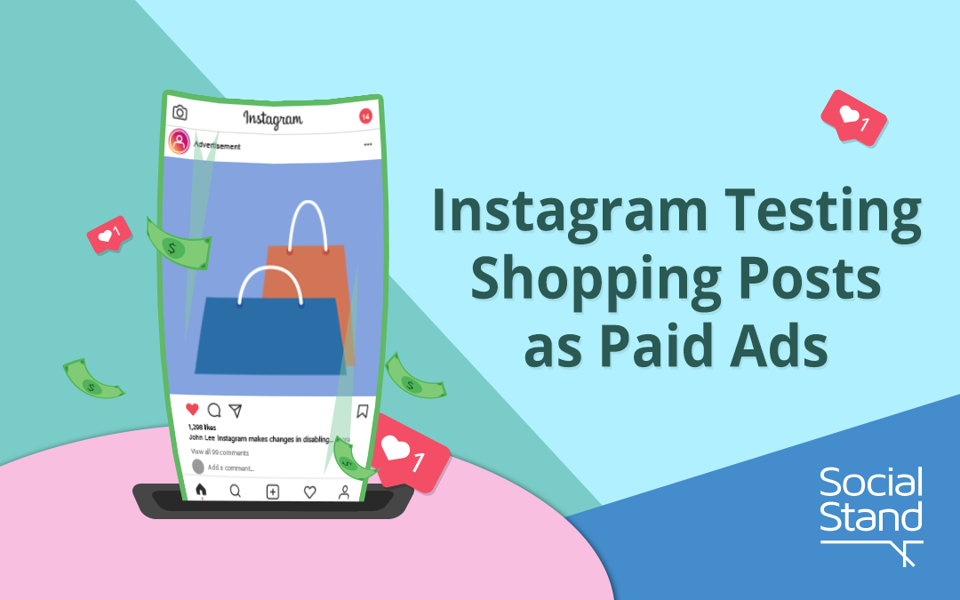 Instagram Testing Shopping Posts as Paid Ads