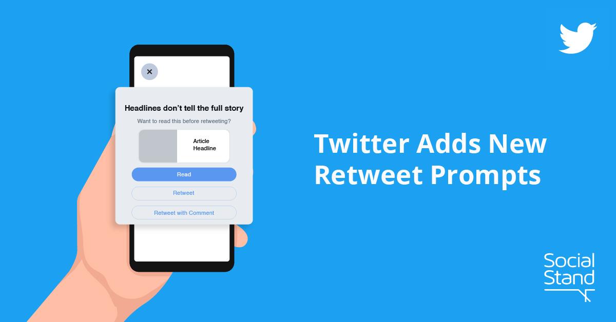 Twitter Retweet Prompts