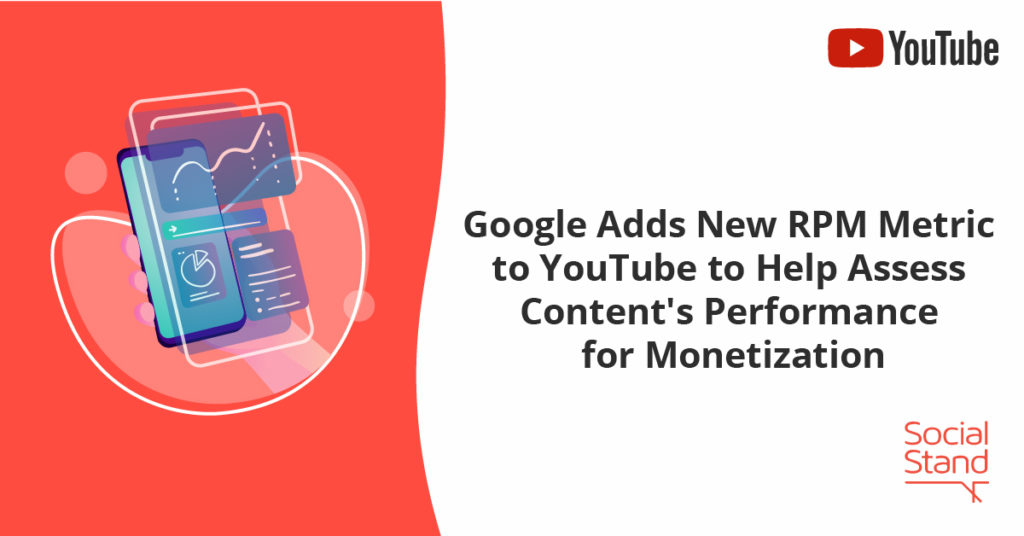 , Google Adds New RPM Metric to YouTube to Help Assess Content's Performance for Monetization