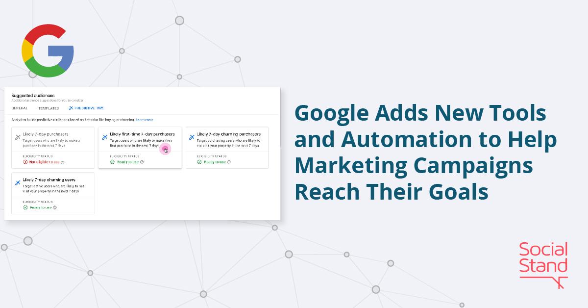 Google Analytics Adds New Predictive Metrics