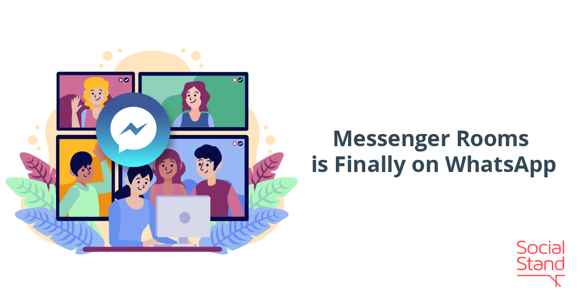 Messenger Rooms is Finally on WhatsApp