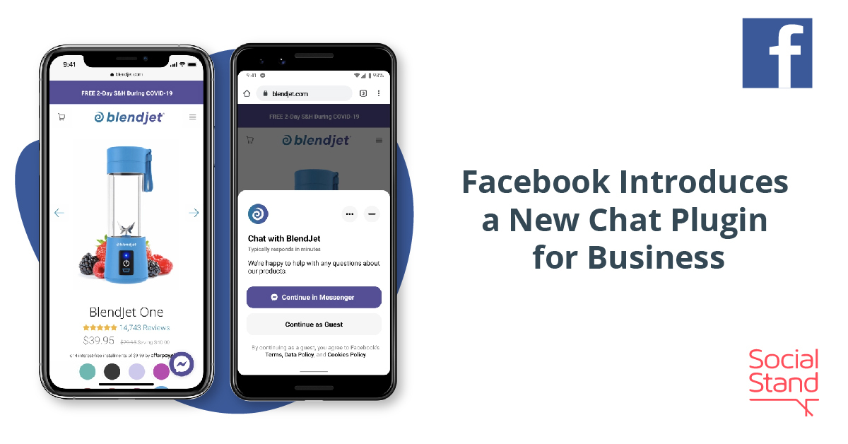 Facebook Introduces a New Chat Plugin for Business