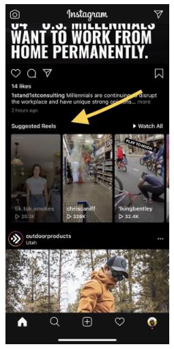 Instagram Boosts Exposure of Reels on Its Main Feed