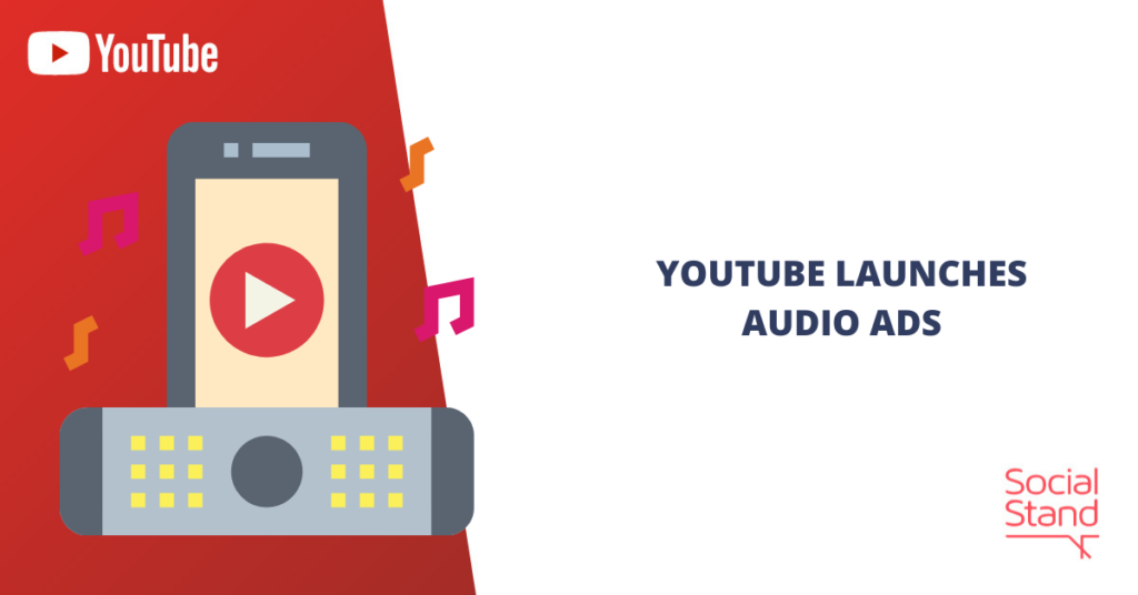 YouTube Launches Audio Ads