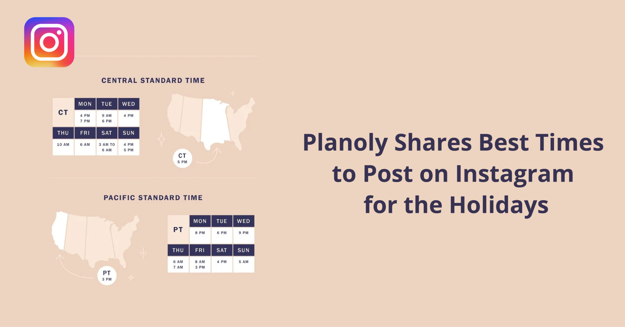 Planoly Shares Best Times to Post on Instagram for the Holidays