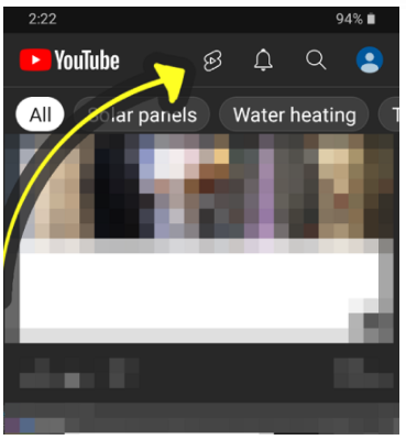 """YouTube Testing """"Shorts"""" Shortcut Button in India"""