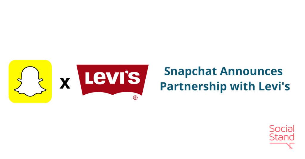 Snapchat Announces Partnership with Levi's
