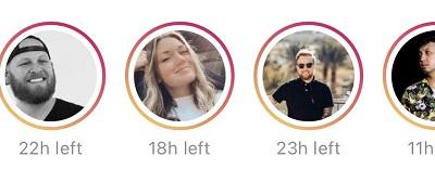 Instagram Tests Timer Listing on Stories