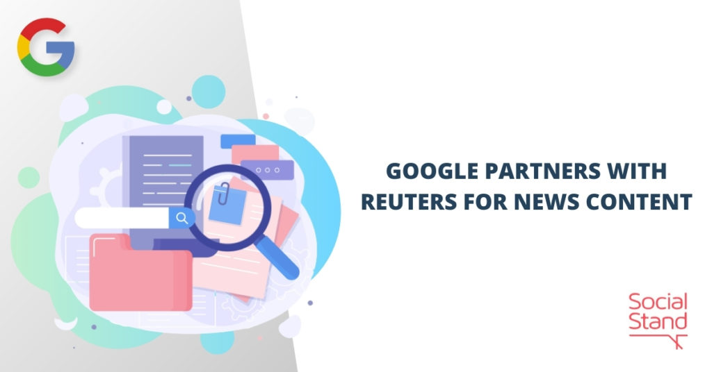 Google Partners with Reuters for News Content