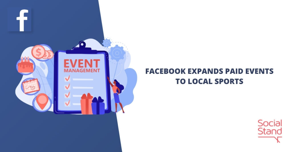 Facebook Expands Paid Events to Local Sports