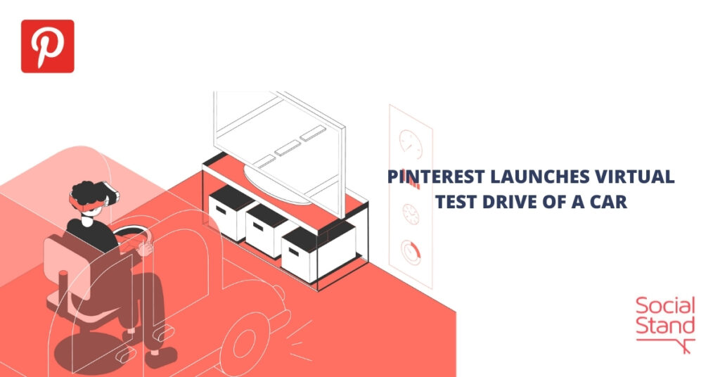 Pinterest Launches Virtual Test Drive of a Car