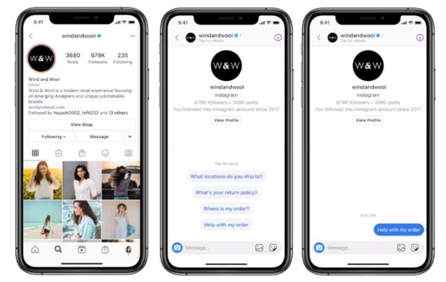 Facebook Enables Messenger API on Instagram