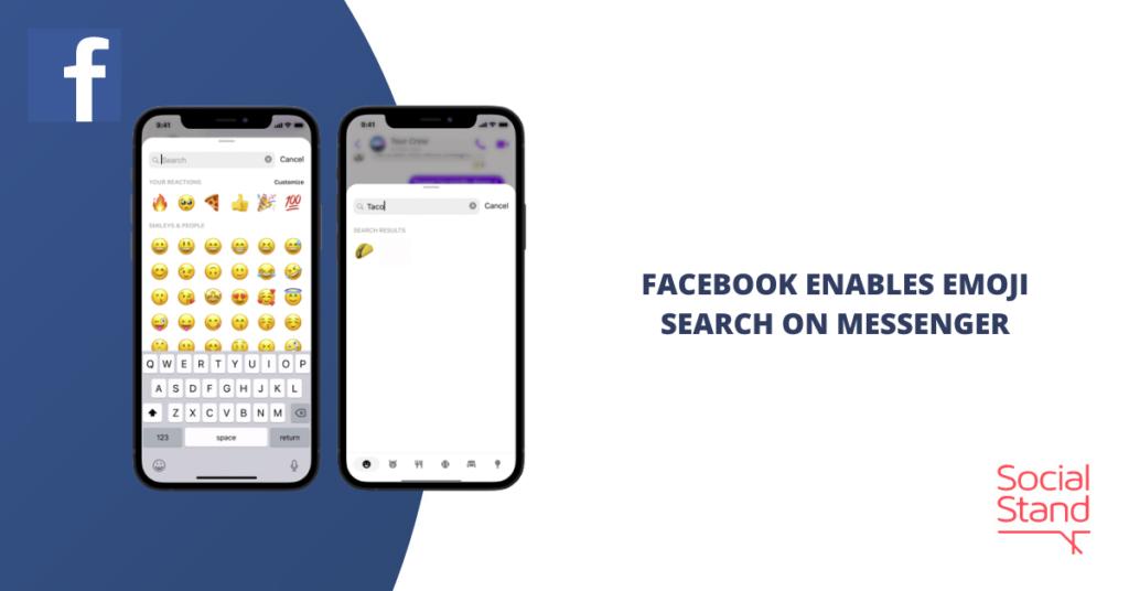 Facebook Enables Emoji Search on Messenger