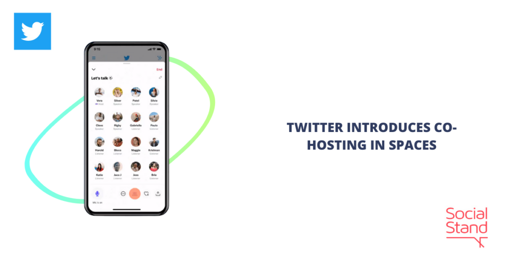Twitter Introduces Co-Hosting in Spaces