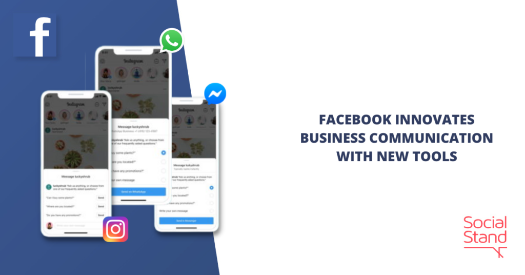 Facebook Innovates Business Communication with New Tools
