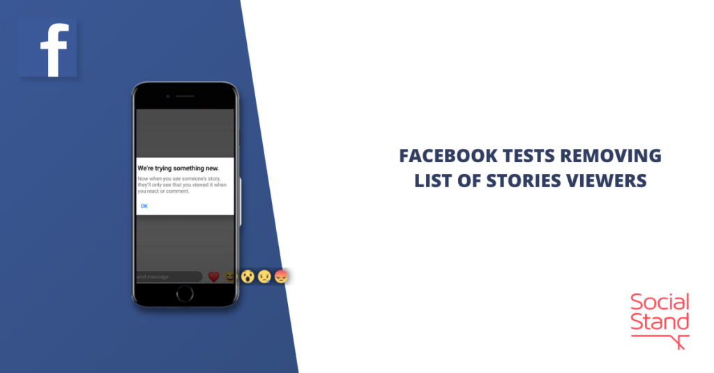 Facebook Tests Removing List of Stories Viewers